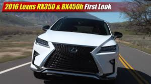 lexus uae offers 2015 first look 2016 lexus rx350 u0026 rx450h testdriven tv