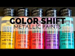 how to paint with color shift metallic paint youtube