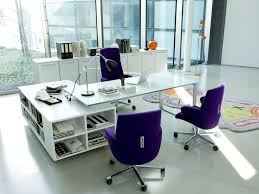Office Glass Table Design Small Office Home Office Office Desk Furniture Home Office