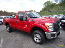 2012 vermillion red ford f350 super duty xl regular cab 4x4