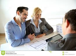 Buy House Plans by Couple Looking At Future House Plans Stock Photo Image 31108550