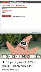 The Conch Has Spoken Meme - 25 best memes about magic conch magic conch memes