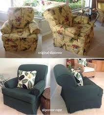 Dining Room Chair Slipcovers Ikea Chair Slipcovers T Cushion Wingback Slipcover Pattern Dining