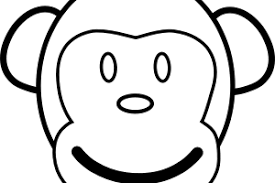 monkey coloring pages monkey coloring page 20 free printable