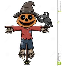 cartoon halloween picture cartoon scarecrow stock photos image 30464013