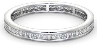 Difference Between Engagement Ring And Wedding Band by The Meaning Of Eternity Rings