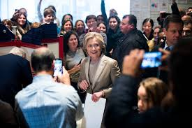 hillary clinton votes video nytimes com