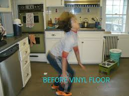 monday makeover painted vinyl kitchen floor u2013