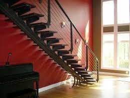 contemporary staircase u2014 capozzoli stairworks