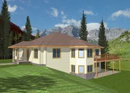home plans for sloping lots melita sloping lot home plan 088d 0086 house plans and more