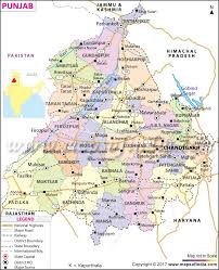Where Is India On The Map by Punjab Map State Information Districts And Facts