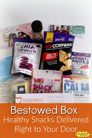 snacks delivered bestowed box healthy snacks delivered right to your door