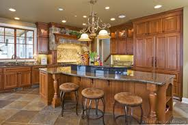 decorating ideas for kitchen islands kitchen kitchen cabinets traditional medium wood golden