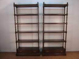stunning cherry wood bookshelves on furniture with solid wood