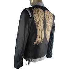 Halloween Costume Angel Wings Aliexpress Buy Walking Dead Daryl Dixon Cosplay Costume