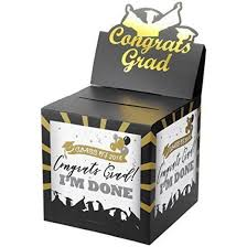 graduation card box unomor2018 graduation card box for party supplies with cap 11 11