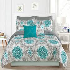 Blue And Gray Bedding Queen Size Bedding Peugen Net