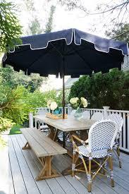 World Market Patio Umbrella by World Market San Remo Table And Bench U2013 Glam York