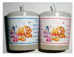 winnie the pooh baby shower favors 14 winnie the pooh baby shower favors votive candle labels ebay