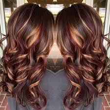 shades of high lights and low lights on layered shaggy medium length 20 hottest red ombre hair ideas with cool shades highlights ombre