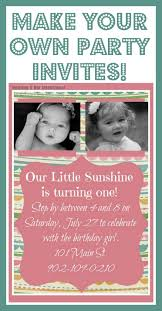 make your own birthday invitations vertabox