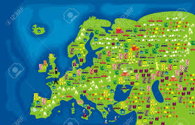 World Map Of Europe by 4 972 Animals World Map Stock Vector Illustration And Royalty Free