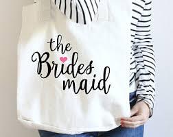 bridesmaid tote bags bridesmaid tote bag etsy