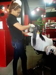 the hair rebond adventure at hair cut encarnacion francisco salon