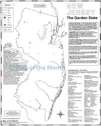 Map New Jersey New Jersey Map Maps For The Classroom