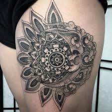 sun moon mandala tattoos pictures to pin on pinterest tattooskid
