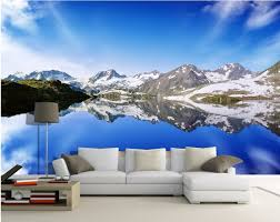 custom mural photo 3d wallpaper alpine lakes home decor painting