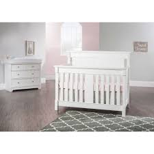 White Convertible Baby Cribs by Nursery Furniture Collections Costco