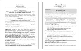 Examples Of A College Resume by Careers Resume Example