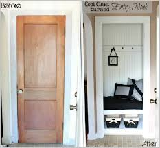 Closets Without Doors by Front Doors Trendy Colors Front Door Closet 46 Front Hall Closet