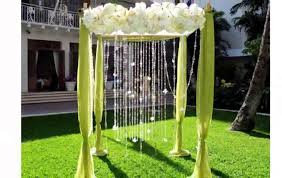 outdoor wedding decorations wedding garden decoration