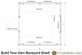 green house floor plans 8x8 greenhouse shed plans storage shed plans icreatables