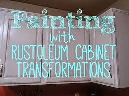 Rustoleum For Kitchen Cabinets by On Bliss Street Rustoleum Cabinet Transformations Review On