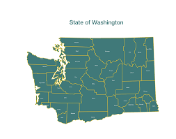 Map Washington State State Of Washington Counties Graffletopia