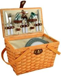 picnic baskets for two hot sale woven picnic basket for two