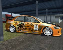 mitsubishi lancer stance virtual stance works mitsubishi lancer evolution viii