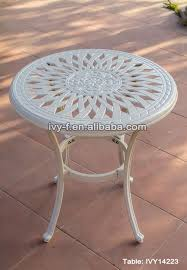 aluminum accent table beautiful metal outdoor end tables patio side table metal with