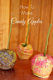 how to make candy apples u2013 brandie sellers