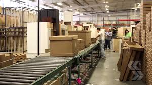 Factory Kitchen Cabinets Assembly And Shipping Deerfield Assembled Cabinets Youtube