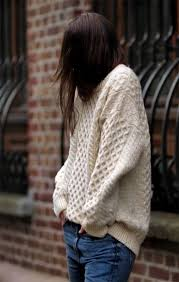 knit oversized sweater sweater knit comfy casual knitted sweater