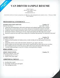 sample resume of driver create my resume sample resume driver