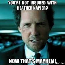 Allstate Meme - allstate insurance agent heather napier insurance agent