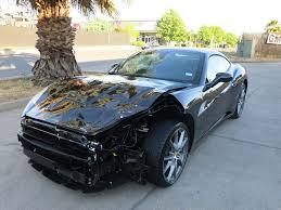 Ferrari California 2013 - fully loaded 2013 ferrari california repairable for sale