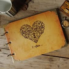 vintage leather photo album compare prices on vintage leather wedding album online shopping