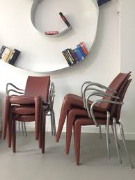 1990s interior design louis 20 chairs by philippe starck for vitra 1990s set of 6 for