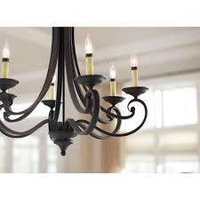 designers fountain monte carlo 6 light hanging natural